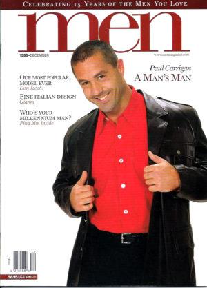 MEN Magazine (December 1999 ) Male Erotic Magazine