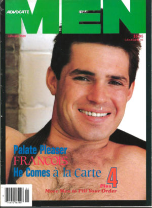 ADVOCATE MEN Magazine (January 1987) Male Erotic Magazine