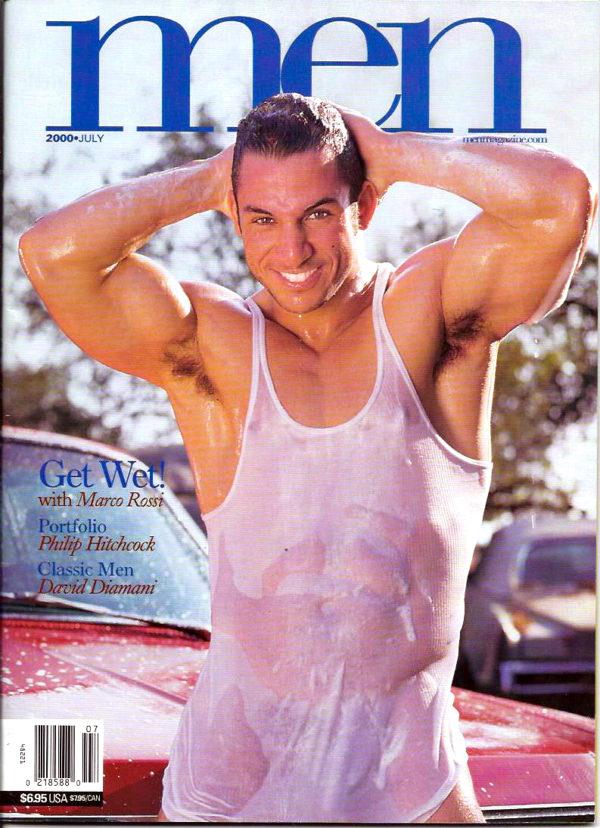 MEN Magazine (July 2000 ) Male Erotic Magazine