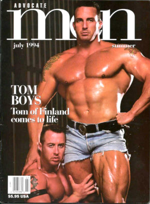 ADVOCATE MEN Magazine (July 1994) Male Erotic Magazine