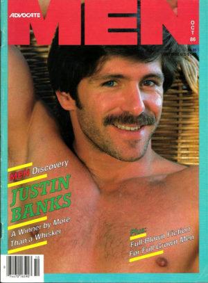 ADVOCATE MEN Magazine (October 1986) Male Erotic Magazine