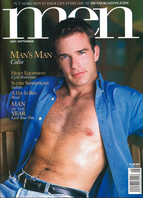 MEN Magazine (September 2001 ) Male Erotic Magazine
