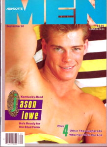 ADVOCATE MEN Magazine (September 1988) Male Erotic Magazine