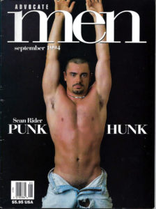ADVOCATE MEN Magazine (September 1994) Male Erotic Magazine