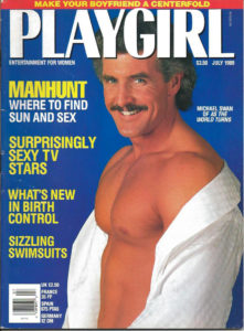 PLAYGIRL Magazine (July 1989) Erotic Men Magazine