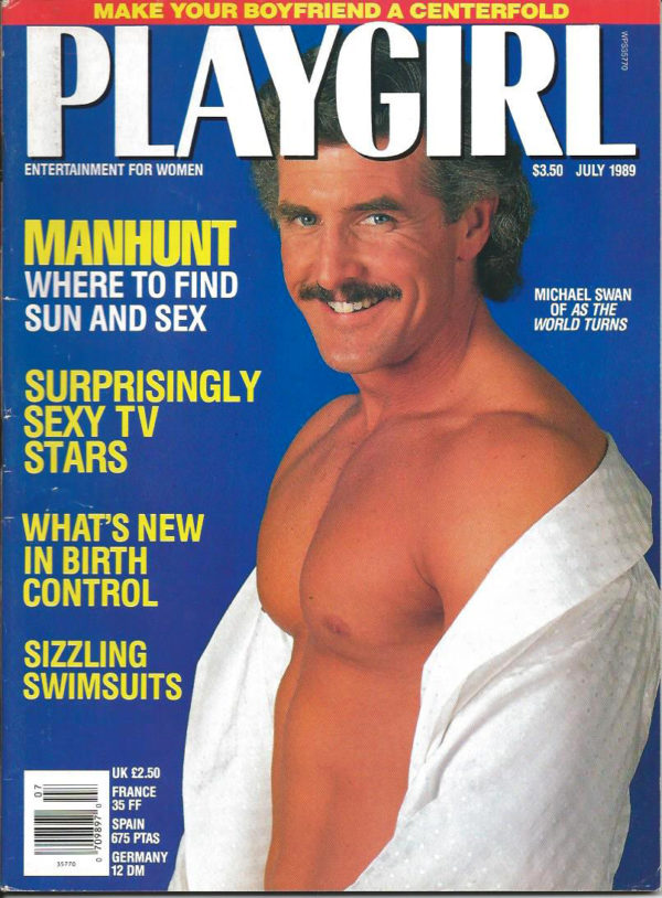 PLAYGIRL Magazine (July 1989) Erotic Men Magazine