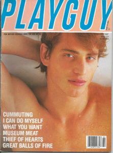 PLAYGUY Magazine (February 1987) Gay Pornographic Magazine