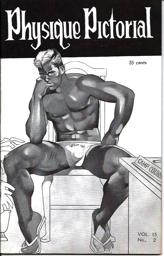 Physique Pictorial (Volume 15 #2 - Released January 1966) Gay Male Nudes Physique Digest Magazine