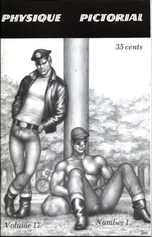 Physique Pictorial (Volume 17 #1 - Released July 1968) Gay Male Nudes Physique Digest Magazine