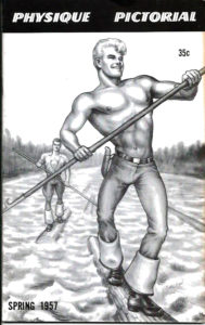 Physique Pictorial (Volume 7 #1 - Released Spring 1957) Gay Male Nudes Physique Digest Magazine