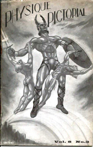 Physique Pictorial (Volume 8 #3 - Released Fall 1958) Gay Male Nudes Physique Digest Magazine