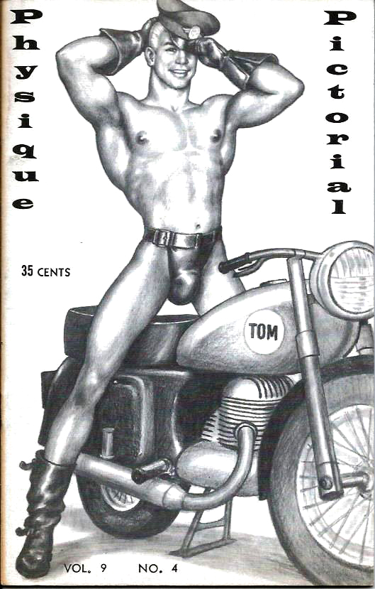 Physique Pictorial (Volume 9 #4 - Released April 1960) Gay Male Nudes Physique Digest Magazine