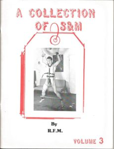A COLLECTION OF S&M by RFM 1977 - Volume 3
