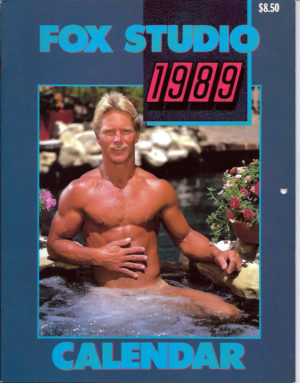 Vintage Fox Studio 1989 Wall Calendar
