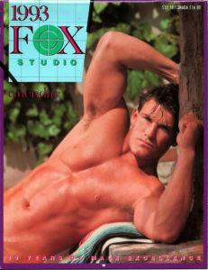 Vintage Fox Studio 1993 Wall Calendar