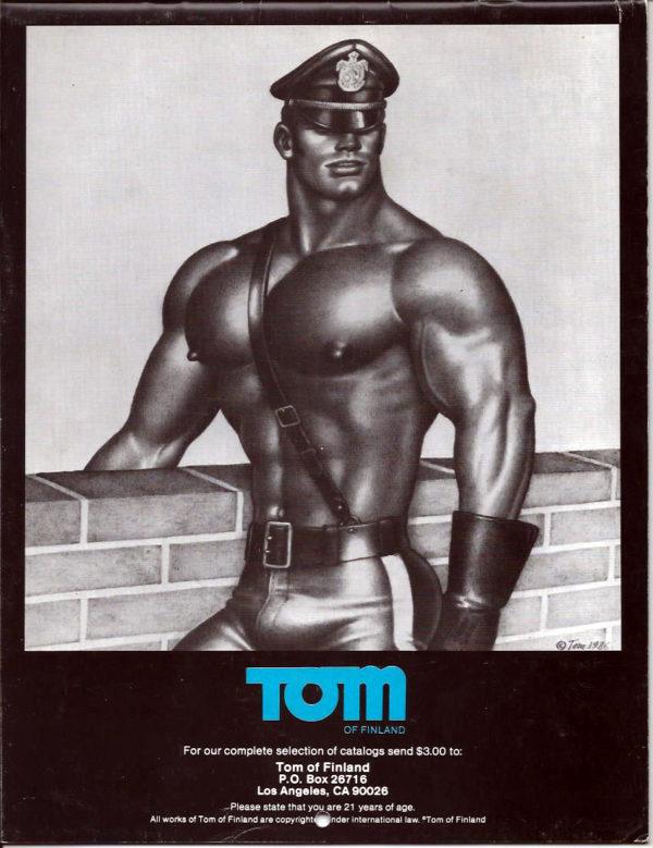 TOM OF FINLAND 1987 CALENDAR