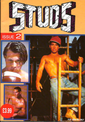STUDS (Issue 2) Full Color Glossy - Gay Pornographic Magazine
