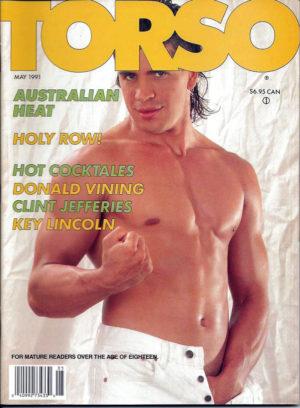 TORSO Magazine (May 1991) Gay Male Digest Magazine