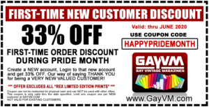 HAPPY PRIDE MONTH - Get 33% OFF your 1st order!
