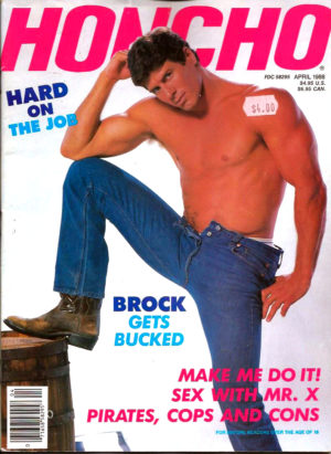 HONCHO Magazine (April 1988) Gay Male Digest Magazine