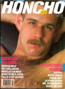 HONCHO Magazine (August 1984) Gay Male Digest Magazine