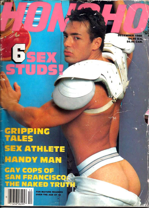 HONCHO Magazine (December 1988) Gay Male Digest Magazine