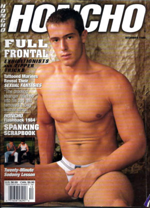 HONCHO Magazine (December 1998) Gay Male Digest Magazine