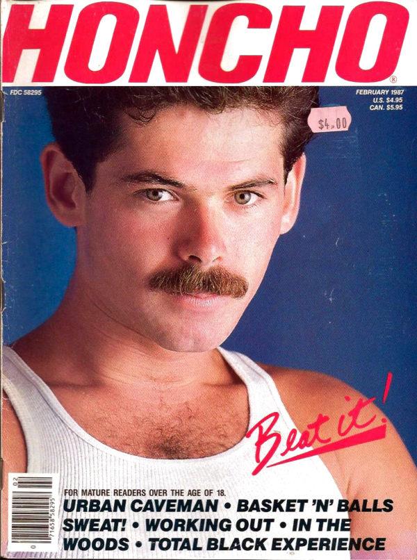 HONCHO Magazine (February 1987) Gay Male Digest Magazine