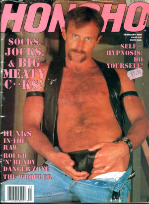 HONCHO Magazine (February 1990) Gay Male Digest Magazine