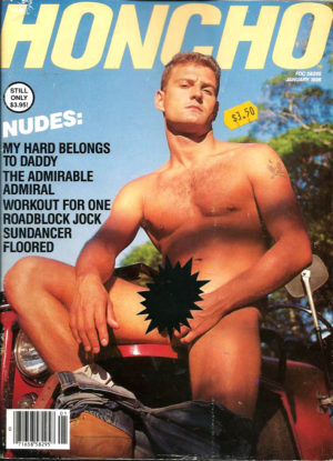 HONCHO Magazine (January 1986) Gay Male Digest Magazine