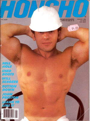 HONCHO Magazine (January 1988) Gay Male Digest Magazine