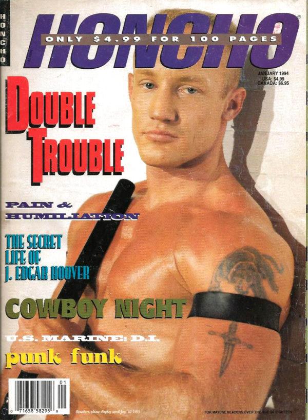 HONCHO Magazine (January 1994) Gay Male Digest Magazine