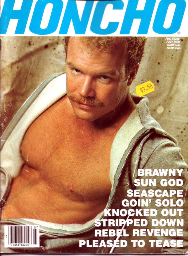 HONCHO Magazine (July 1985) Gay Male Digest Magazine