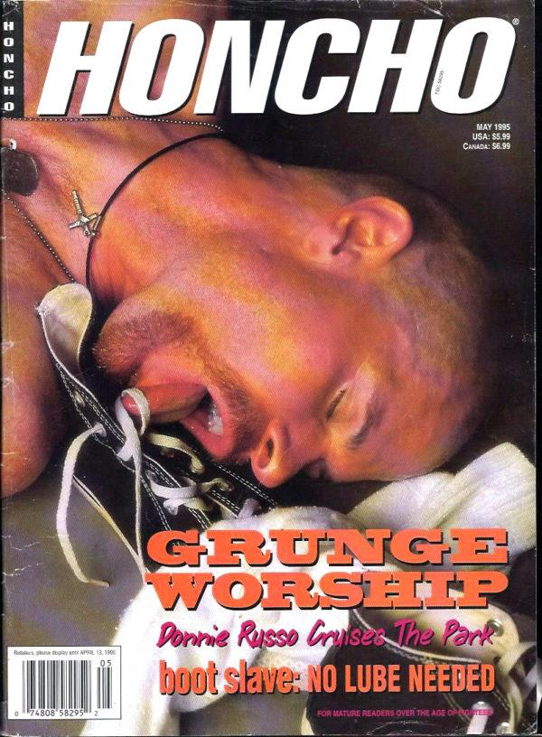 HONCHO Magazine (Mary 1995) Gay Male Digest Magazine