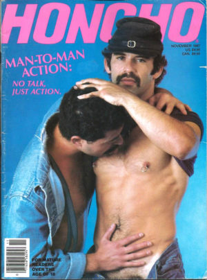 HONCHO Magazine (November 1987) Gay Male Digest Magazine