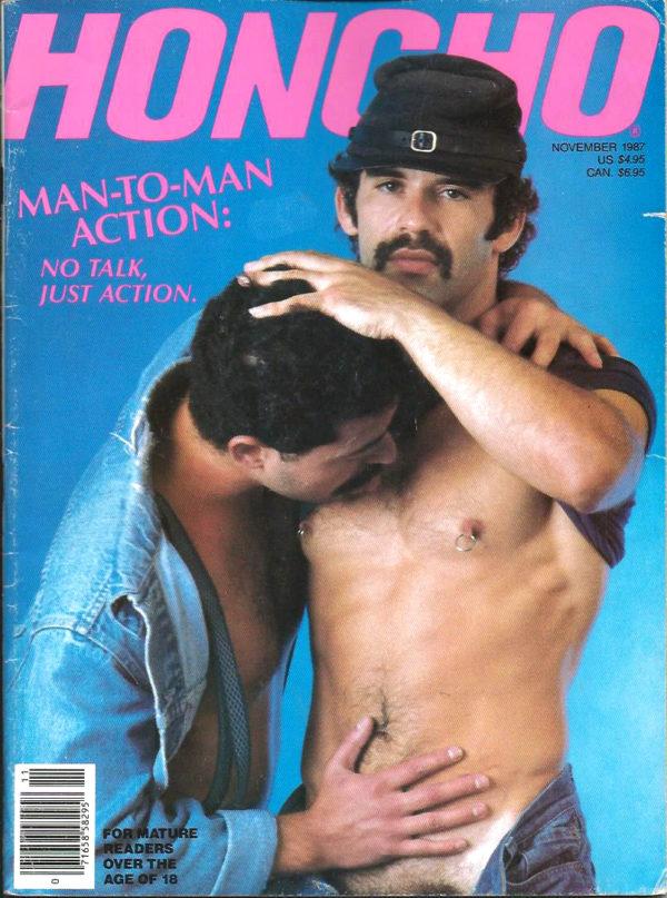 HONCHO Magazine (November 1987) Gay Male Digest Magazine