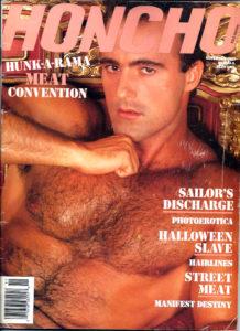 HONCHO Magazine (November 1989) Gay Male Digest Magazine