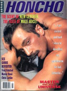HONCHO Magazine (November 1992) Gay Male Digest Magazine