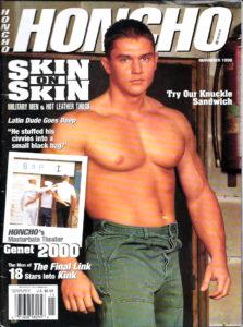 HONCHO Magazine (November 1999) Gay Male Digest Magazine