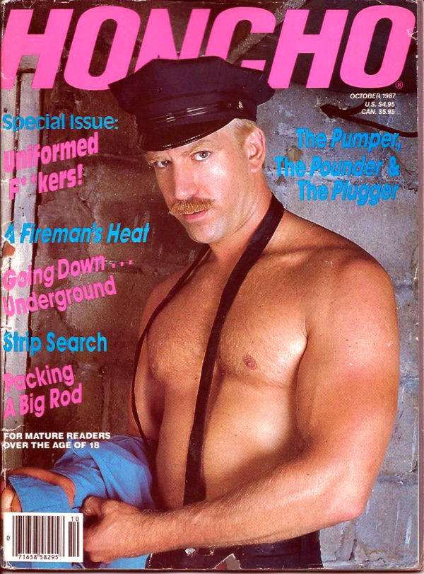 HONCHO Magazine (October 1987) Gay Male Digest Magazine