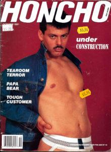 HONCHO Magazine (October 1991) Gay Male Digest Magazine