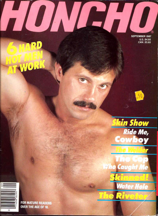 HONCHO Magazine (September 1987) Gay Male Digest Magazine