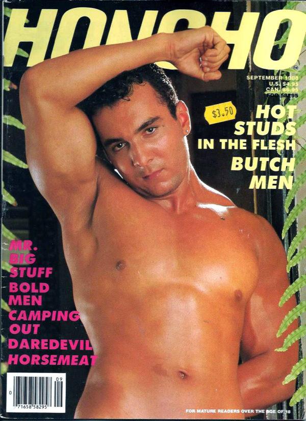 HONCHO Magazine (September 1988) Gay Male Digest Magazine