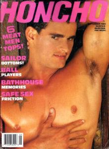 HONCHO Magazine (September 1989) Gay Male Digest Magazine