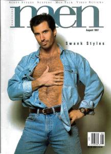 MEN Magazine (August 1997 ) Male Erotic Magazine