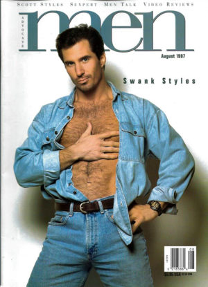 MEN Magazine (August 1997 ) Male Erotic Magazine