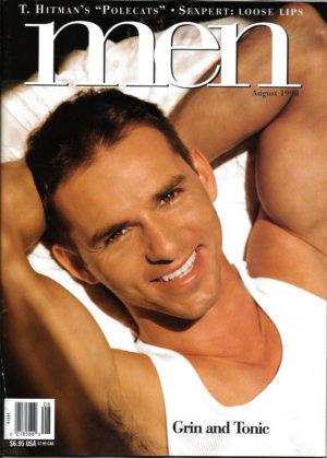 MEN Magazine (August 1998 ) Male Erotic Magazine