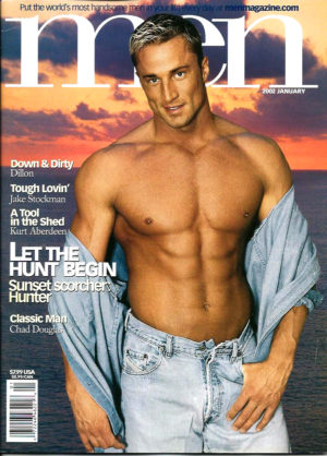 MEN Magazine (January 2002 ) Male Erotic Magazine