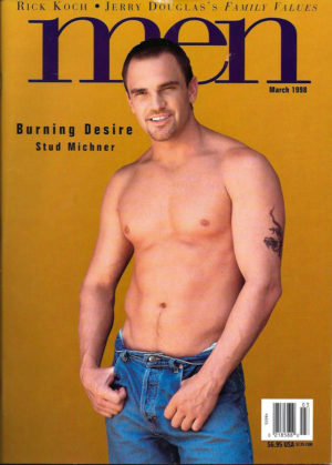 MEN Magazine (March 1998 ) Male Erotic Magazine
