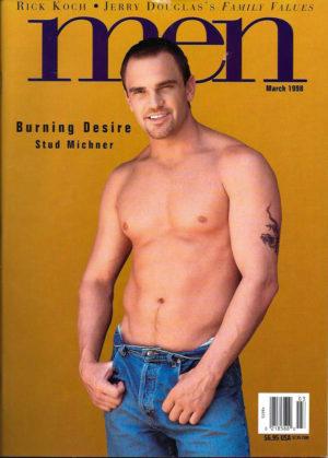 MEN Magazine (March 1998 ) Male Erotic Magazine